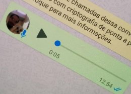 Como mudar a voz no WhatsApp.