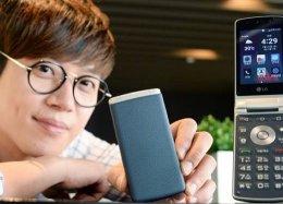 LG lança celular de flip com tela touch e Android Lollipop.