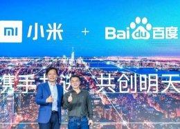 Chinesas Xiaomi e Baidu anunciam parceria em inteligência artificial