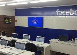 Facebook cria laboratório em favela de São Paulo.