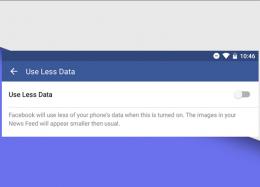 Facebook testa opção para reduzir consumo de internet no Android