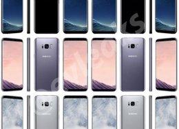 Agora vazaram imagens da traseira do Galaxy S8.