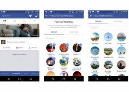 Imagens mostram novo feed de notícias proposto pelo Facebook