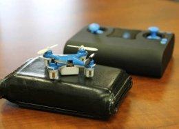 O menor drone do mundo cabe no seu bolso; conheça.