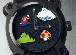 Loja cria relógio de R$ 86 mil inspirado em Super Mario