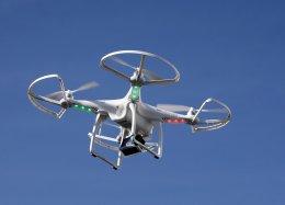 Drones do futuro poderão ser recarregados por energia wireless