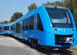 Primeiro trem movido a hidrogênio deve começar a operar ainda neste ano.