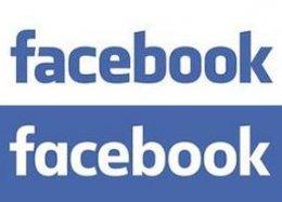 Facebook faz pequena alteração em seu logotipo.