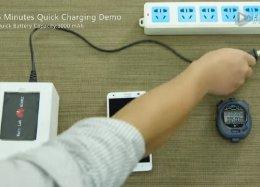 Carregador da Huawei leva bateria do celular de 0 a 50% em cinco minutos