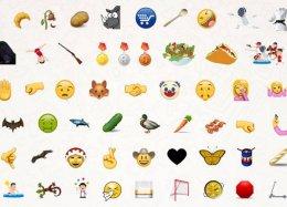 Unicode libera lista com 74 novos emojis