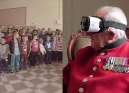 Realidade virtual 'leva' veterano da 2ª Guerra de volta a cidade que libertou dos nazistas.
