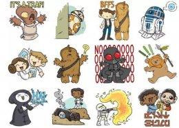 Facebook lança pacote de emojis inspirado em Star Wars