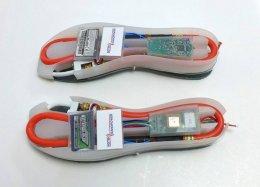 Tênis carregam a bateria do celular com os passos do usuário