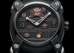 Fabricante lança relógio inspirado em 'Donkey Kong' por mais de R$ 50 mil.