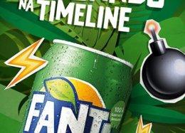Como todo mundo já está sabendo, a Coca-Cola lançou, no final de junho, o seu novo produto: a Fanta Guaraná, o concorrente do Guaraná Antarctica da Ambev.