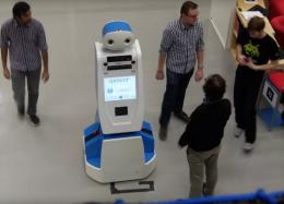 Robô ajudará passageiros perdidos no aeroporto de Amsterdã
