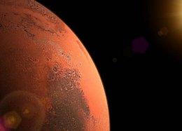 Nova reserva gigantesca de água é descoberta em Marte.