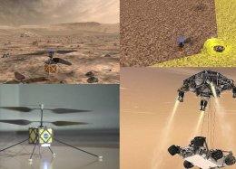 Nasa vai usar drones para realizar o reconhecimento do terreno de Marte.