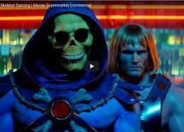 He-Man e Esqueleto dançam juntos em novo comercial