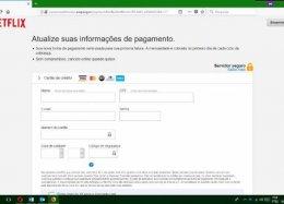 Site falso da Netflix tenta roubar dados de cartão de crédito de brasileiros
