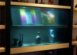 Conheça a TV 'invisível' da Panasonic.