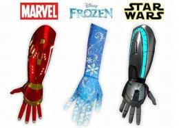 Empresa cria próteses infantis baseadas em Star Wars e Homem de Ferro.