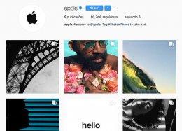 Apple faz primeiras publicações em sua conta no Instagram