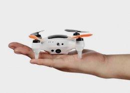 Drone que cabe na palma da mão tem reconhecimento facial e desvia de obstáculos