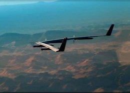 Vento foi responsável por queda de drone do Facebook em junho.