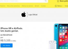 Apple abre loja no Mercado Livre com iPhones mais baratos e frete grátis.