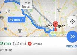 Google Maps vai mostrar quando um endereço tem vaga para estacionar por perto.