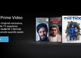 Preço do Amazon Prime Video cai para R$ 7,90 e agora é cobrado em real