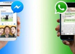 Apps de mensagem dominam a internet.